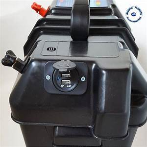 Marine    Leisure 12 Volt Battery Carrier Box