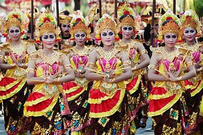 Indonesia Balinese Bali Traditional Wtm Wonderful Costumes