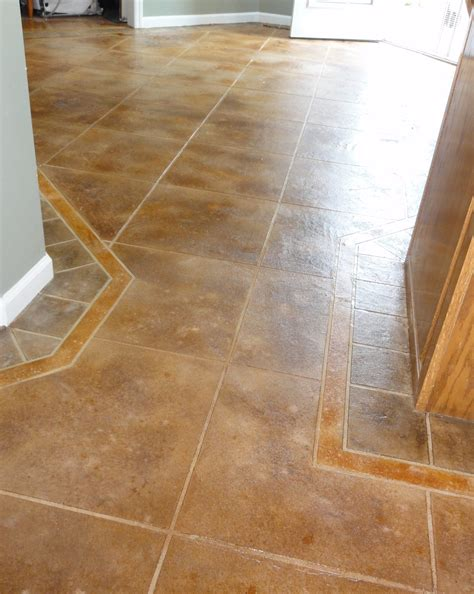 how to tile a kitchen floor on concrete cost to tile kitchen floor morespoons c8996ba18d65 9838