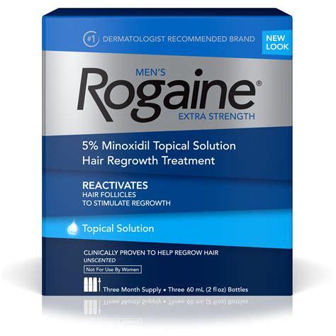 Amazon.com : Men's Rogaine Extra Strength 5% Minoxidil