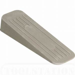 Door Wedge Grey Rubber | Toolstation
