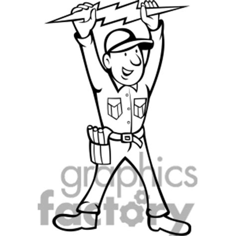 11271 electrician clipart black and white electrician clipart black and white electric border page