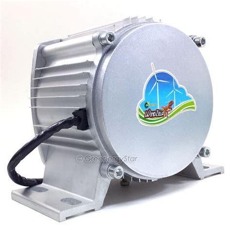 windzilla max 3200 w 12 v dc permanent magnet wind turbine generator pma ebay
