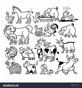 Amd clipart farm animal - Pencil and in color amd clipart ...