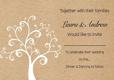 custom wedding invitation printing recycled paper