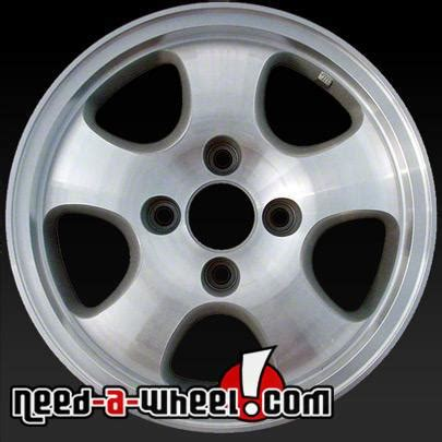 15 quot honda accord wheels oem 1997 machined rims 63760