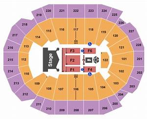 Fiserv Forum Seating Chart With Seat Numbers Fiserv Forum Tickets In Milwaukee Wisconsin Fiserv Forum