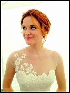 april kepner wedding dress hair one day pinterest With april kepner wedding dress