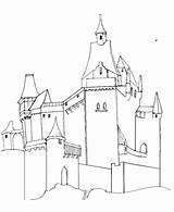 Coloring Medieval Castles Castle Knights Sheets Pages Printables Tall Activity Simple European Churches Fantasy Printable Template Bluebonkers Clipart Midievil Knight sketch template