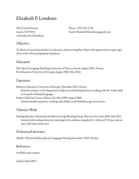 Classic Resume Exle by Classic Resume Template Diet List 2016