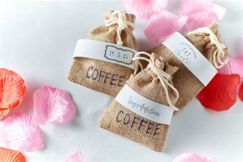 wedding favors alliance coffee singapore