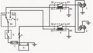 Wiring Diagram Lampu Kepala Sepeda Motor