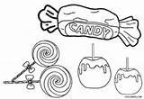 Coloring Candy Printable Cool2bkids Sweets Candies Cotton Halloween Drawing Cane Getdrawings Bus Chewy Printing sketch template