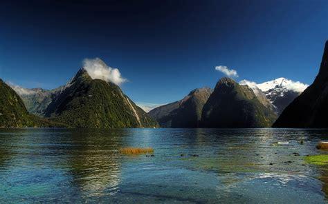Mountain Near River Pics | HD Wallpapers