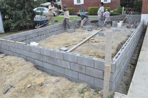 How To Build A Concrete Block Foundation  One Project Closer. Basement Egress Window. Basement Floor Finishing. Basement Wall Cracks. Fixing Leaks In Basement Walls. Basement Remodeling Baltimore. New Construction Basement Waterproofing. Basement Frame. White House Basement Floor Plan