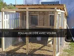 Construire Enclos Pour Chats : construire un poulailler d t avec voli re blogue de jardinage bricolage et autosuffiance ~ Melissatoandfro.com Idées de Décoration