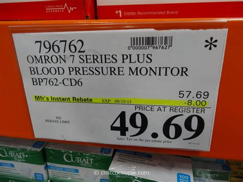 Omron 7 Series Plus Blood Pressure Monitor