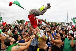 Mexico goes wild for Olympic gold in soccer - latimes