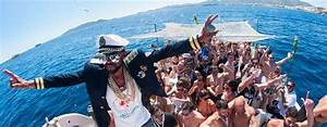 Ibiza Sea Party Goes Wild On The Water