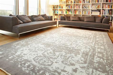Custom Rugs Toronto by Bakhtiar Gray Transitional Living Room Vancouver