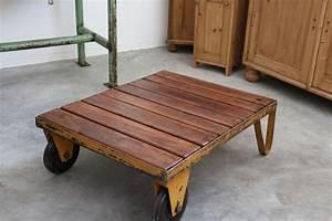 Möbel Industrial Style : palettenwagen industrial vintage m bel antik ~ Indierocktalk.com Haus und Dekorationen