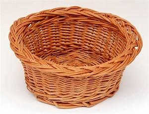 Round, Empty, Basket, Stock, Image, Image, Of, Plait, Wattle