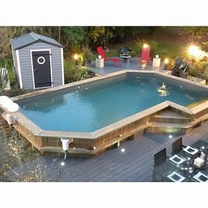 Piscine Semi Enterré Bois : piscine semi enterr e guide ~ Premium-room.com Idées de Décoration