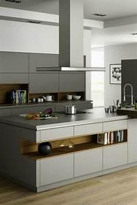 Küche Grau Holz : 78 best dunkle k chen schick durch schwarz grau images ~ Michelbontemps.com Haus und Dekorationen