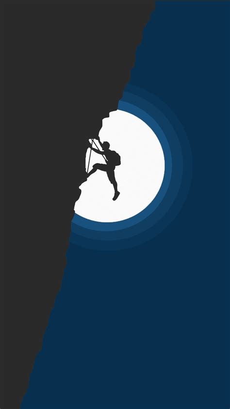 wallpaper rock climbing adventure minimal  minimal