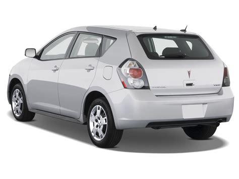 Image 2009 Pontiac Vibe 4 Door Hb Fwd W1sa Angular Rear