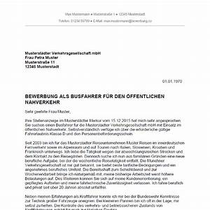 bewerbung als busfahrer busfahrerin bewerbungco With musterbewerbung busfahrer
