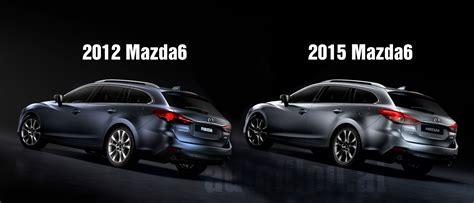 Vergleich: 2012 Vs. 2015 Mazda6 [+video!]