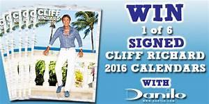 WIN SIGNED CLIFF RICHARD CALENDARS