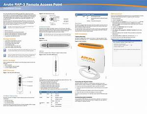Hewlett Packard Enterprise Rap3wn Remote Access Point User