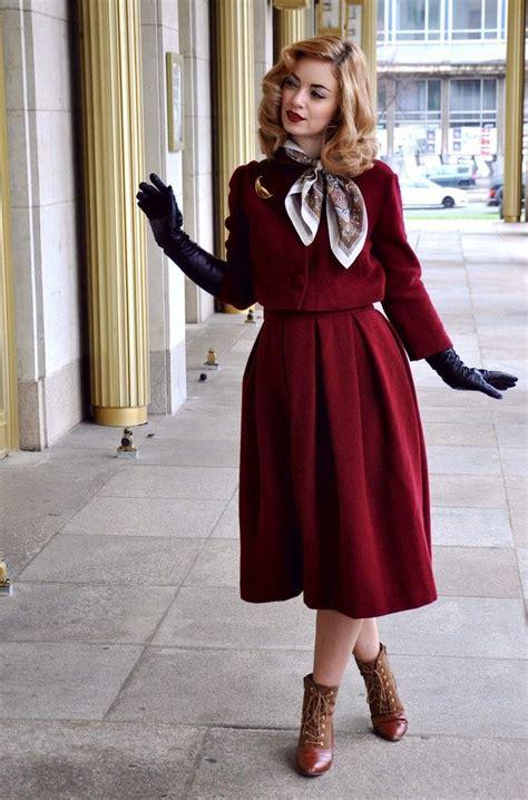 50er Jahre by Prettie Lanes Authentische Mode Im 50er Jahre Stil
