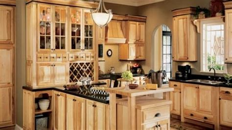 ideas hickory cabinets  naturally beautiful