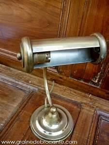 Lampe De Bureau Cuivre : lampe de bureau en laiton ancienne ~ Teatrodelosmanantiales.com Idées de Décoration
