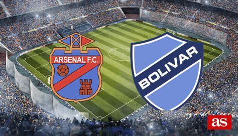 Arsenal de Sarandí 3-1 Bolívar: resultado, resumen y goles