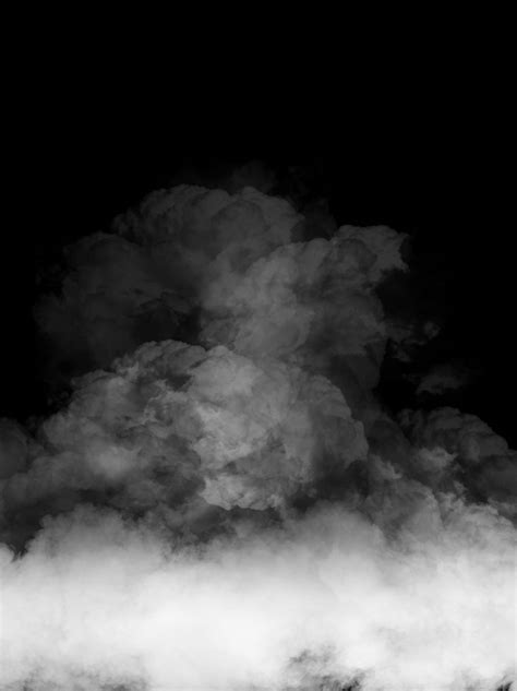 Creative Minimalist Smoke Black Background | Blur photo