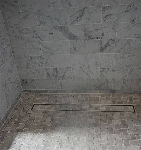 warning discover decorative linear shower drains before