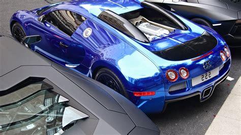 Blue Bugatti Luxury Car HD Wallpaper | HD Wallpapers