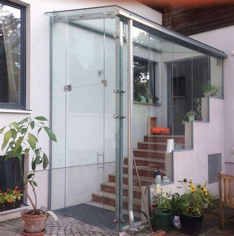 Windfang Hauseingang Glas windfang glas innen glas schaller ganzglasanlagen windfang aus glas