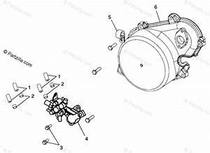 Polaris Snowmobile 1999 Oem Parts Diagram For Oil Pump
