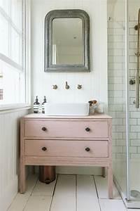 Meuble Vasque Retro : meuble salle de bain r cup 70 id es pour une d co qui respire l authenticit obsigen ~ Teatrodelosmanantiales.com Idées de Décoration