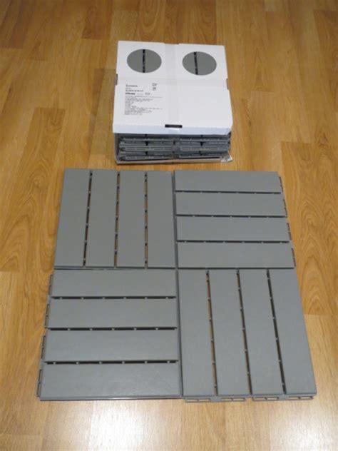 Runnen Floor Decking Grey by Ikea Runnen Floor Decking Image 1