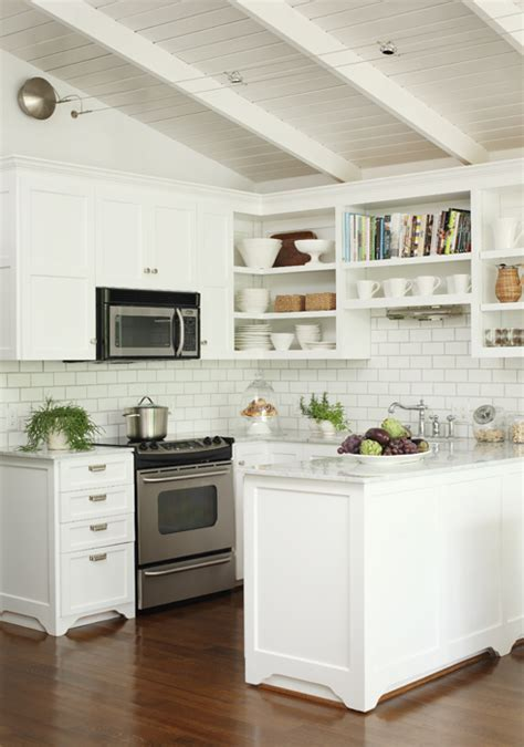 Bhg Kitchen And Bath Ideas - kitchen with open shelving transitional kitchen bear hill interiors