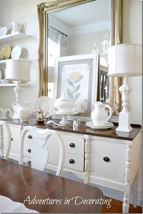 Decorating Dining Room Buffets And Sideboards by Feature Friday Adventures In Decorating Southern