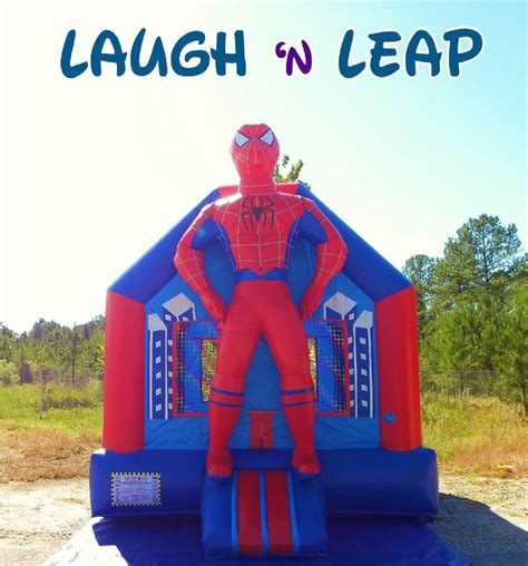 Spiderman Bounce House Columbia Sc Laugh N Leap