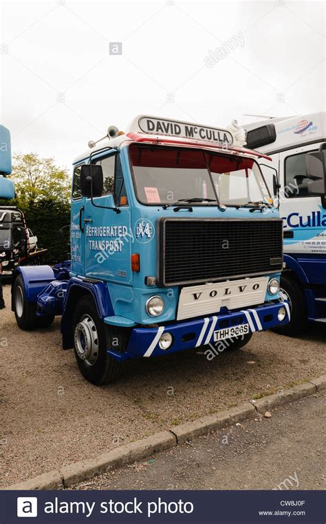 volvo lorries volvo lorry truck owned by david mcculla refrigerated