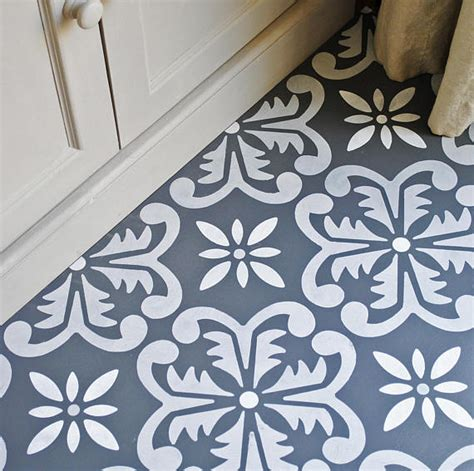 Large Fes Floor Stencil